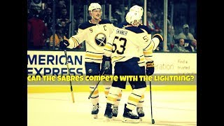 Can the Buffalo Sabres compete with the Tampa Bay Lightning?