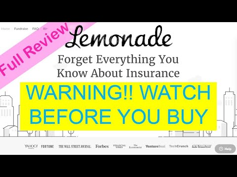 Lemonade Insurance Full Review - What You Need To Know
