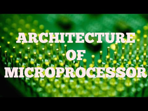 MICROPROCESSOR |  PART-2 | ARCHITECTURE OF MICROPROCESSOR |  BSNL JE (TTA)| JTO