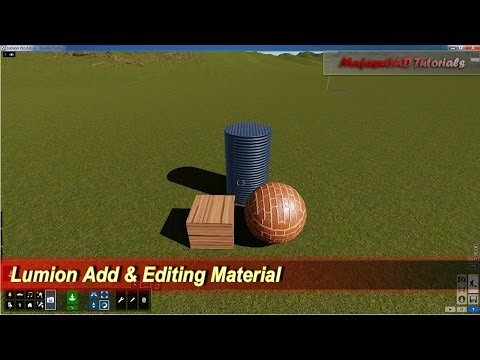 lumion material library