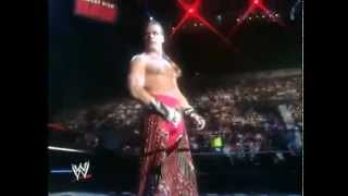 Shawn Michaels 90s entrance highlights  review  interview from 2002.mpg