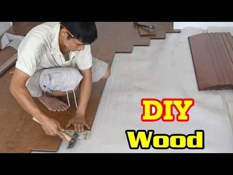How to make wooden floors for a beautiful home – DIY Wood –  Woodworking