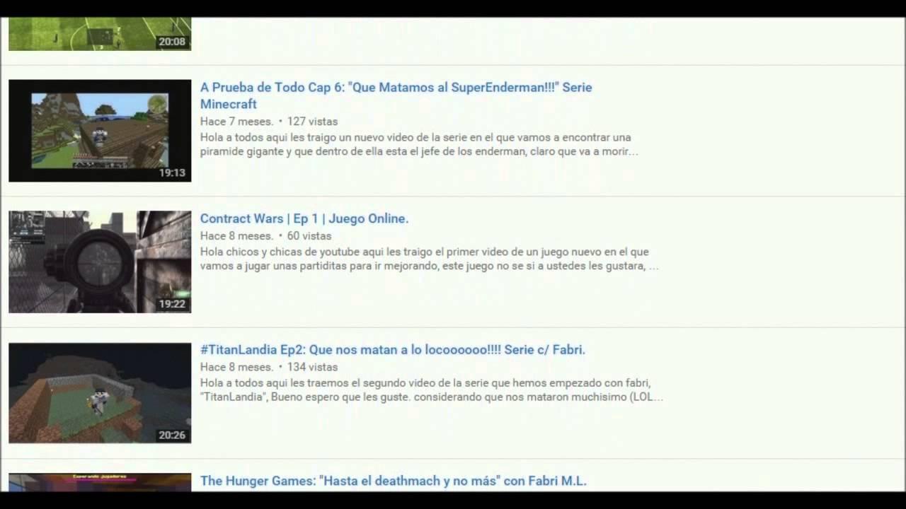 Promoción de Canales | Fernanfloo
