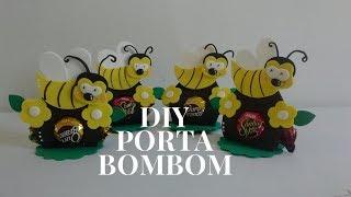 DIY Lembrancinha Porta Bombom Abelhinha