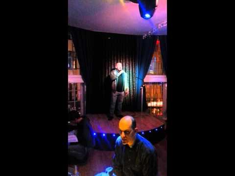 Ian on karaoke in brighton