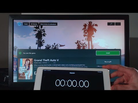 Downloading GTA 5 On XBOX ONE At 1000Mbps (Gigabit Fiber Optics Internet)