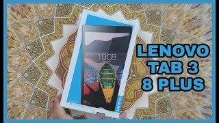 UNBOXING Lenovo TAB 3 8 PLUS