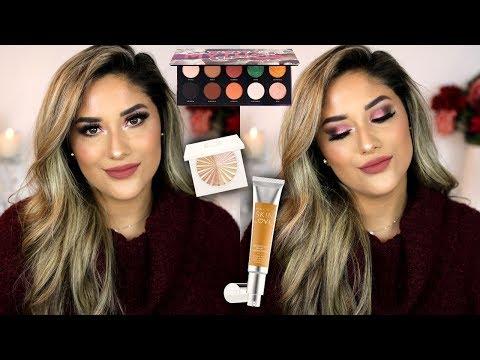GRWM USING NEW PRODUCTS | Becca Cosmetics, OFRA, Bad Habit, Morphe