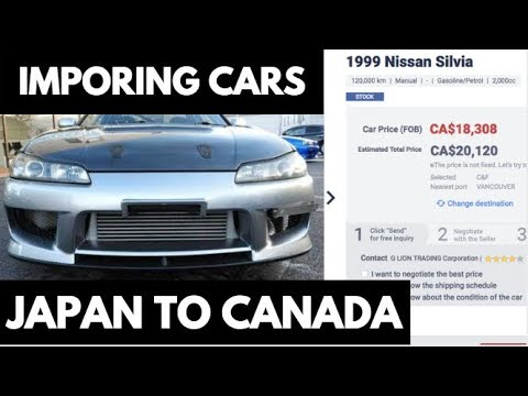 IMPORT & REGISTER JAPANESE Cars In CANADA