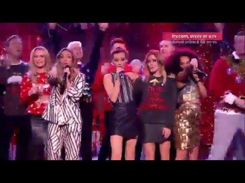 Little Mix - Love Me Like You - Text Santa 2015