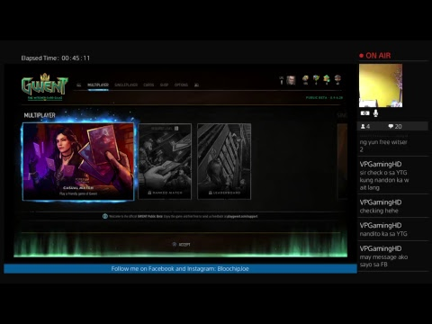[LIVE] GWENT: The Witcher Card Game
