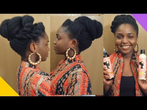 HOLIDAY UPDOS ft Camille Rose Naturals