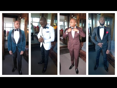 Men's Style: What To Wear To Black Tie Events (Look Book)