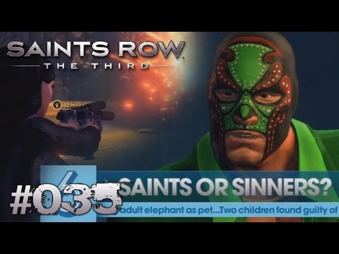 Let's Play Saints Row: The Third #035 [Deutsch] [Full-HD] - Saints or Sinners?