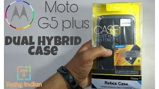 Moto G5 plus Ipaky Dual Hybrid case