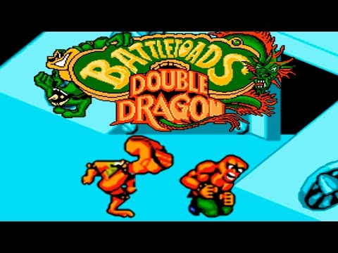 Battletoads And Double Dragon прохождение (NES, Famicom, Dendy)