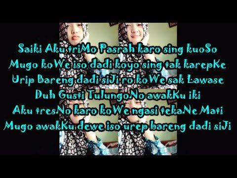 NDX A K A Tresno Sak Lawase (Lirik)