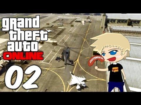 GTA Online 2.0 | #02 | Mission: Jet beschaffen [Deutsch/HD]