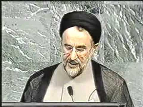 "Iranian president Khatami introduced the idea of ""Dialogue Among Civilizations"". To UN Assembly"