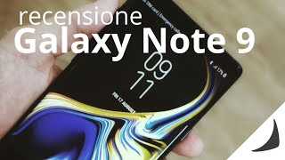 Recensione Samsung Galaxy Note 9, bello come pochi