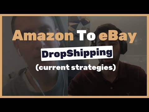 Interview with Serge about Amazon to eBay dropshipping and the current strategies thumbnail