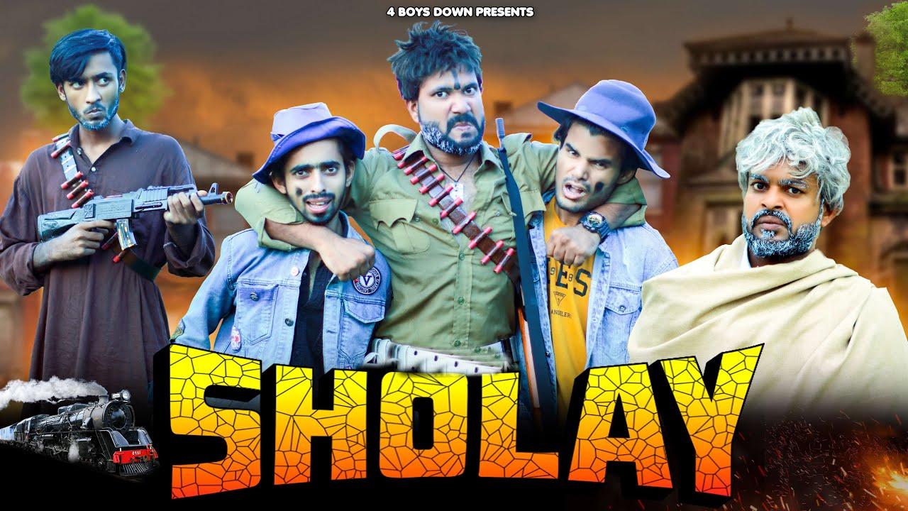 Download SHOLAY || 4BOYSDOWN || 4BD