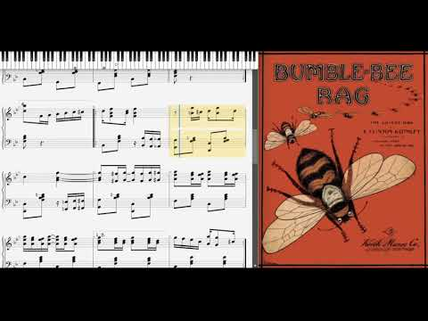 Bumble Bee Rag by Clinton Keithley (1909, Ragtime piano)