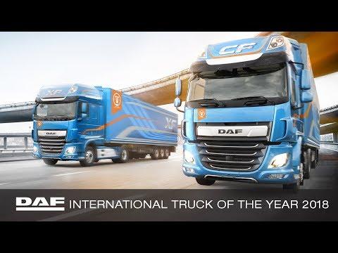 DAF Trucks UK | New DAF XF & CF International Truck of the Year 2018