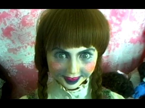Annabelle Doll Makeup