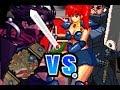 AB Mugen Request #703: Holy Hiryu & Shinobi vs Guts & Yoko Asagiri