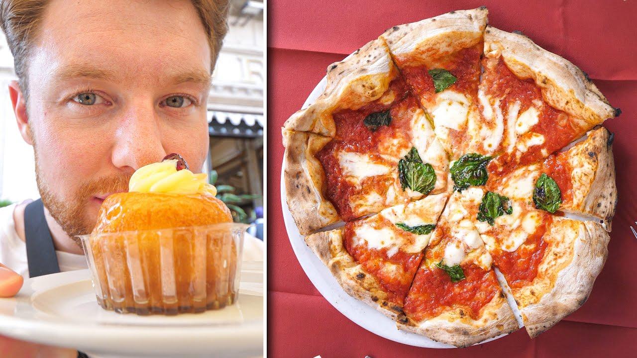 Napoli Food Tour - die erste Pizza Margherita der Welt