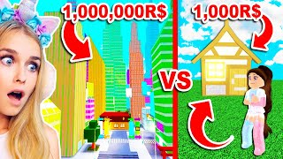BUILDING A HUGE CITY In City Tycoon With Silly! (Roblox)