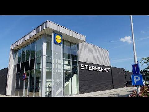 Supermarkt Lidl opent haar deuren op winkelcentrum Sterrenhof / Spijkenisse 2017