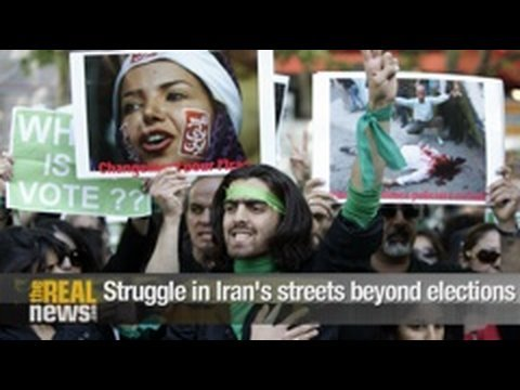 Struggle in Iran's streets beyond elections