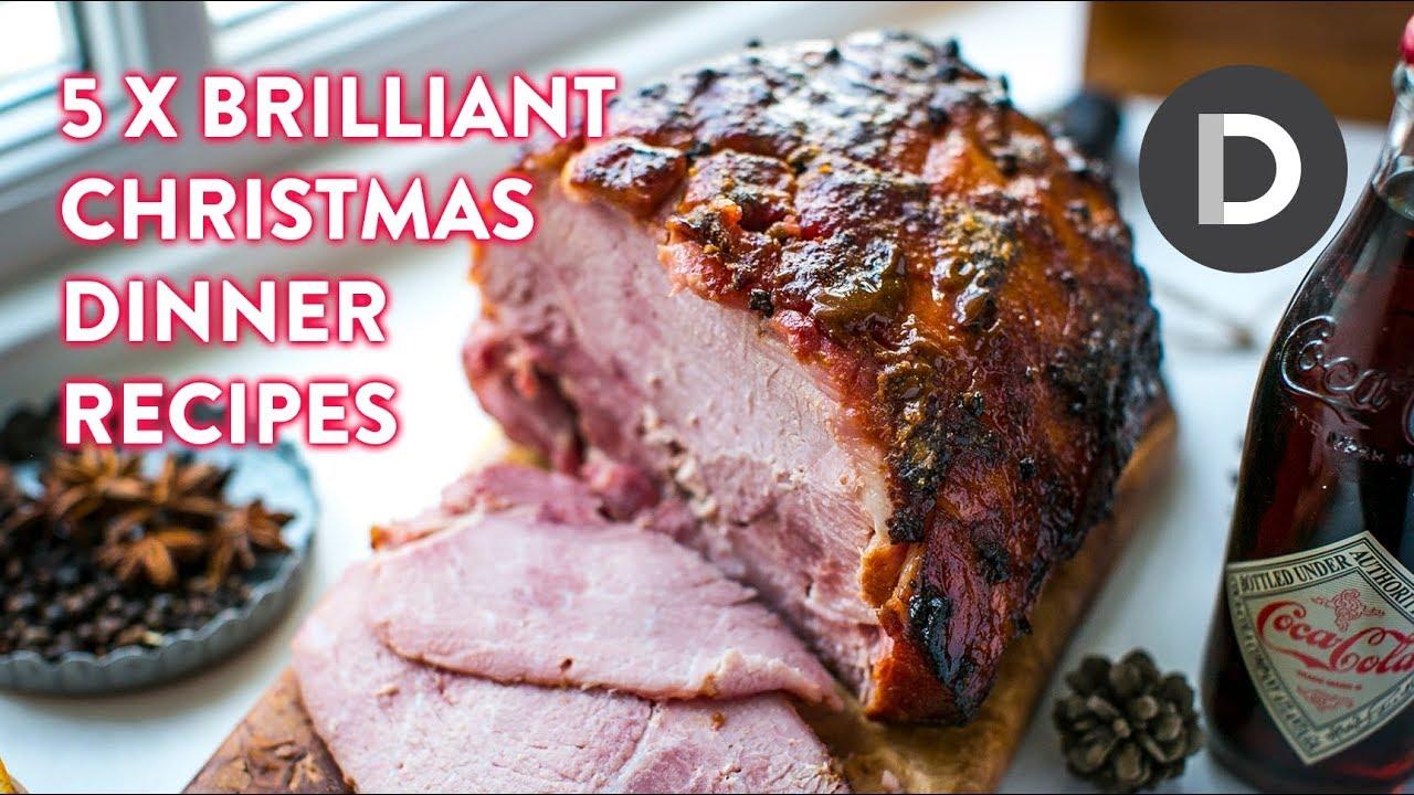 Christmas Dinner Recipes.Top 5 Christmas Dinner Recipes