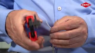 KNIPEX Прецизионный инструмент для удаления изоляции с фасонными ножами(Компания МВ Групп официальный дилер KNIPEX на территории РФ Сайт: http://knipex-shop.ru., 2015-04-23T12:19:18.000Z)