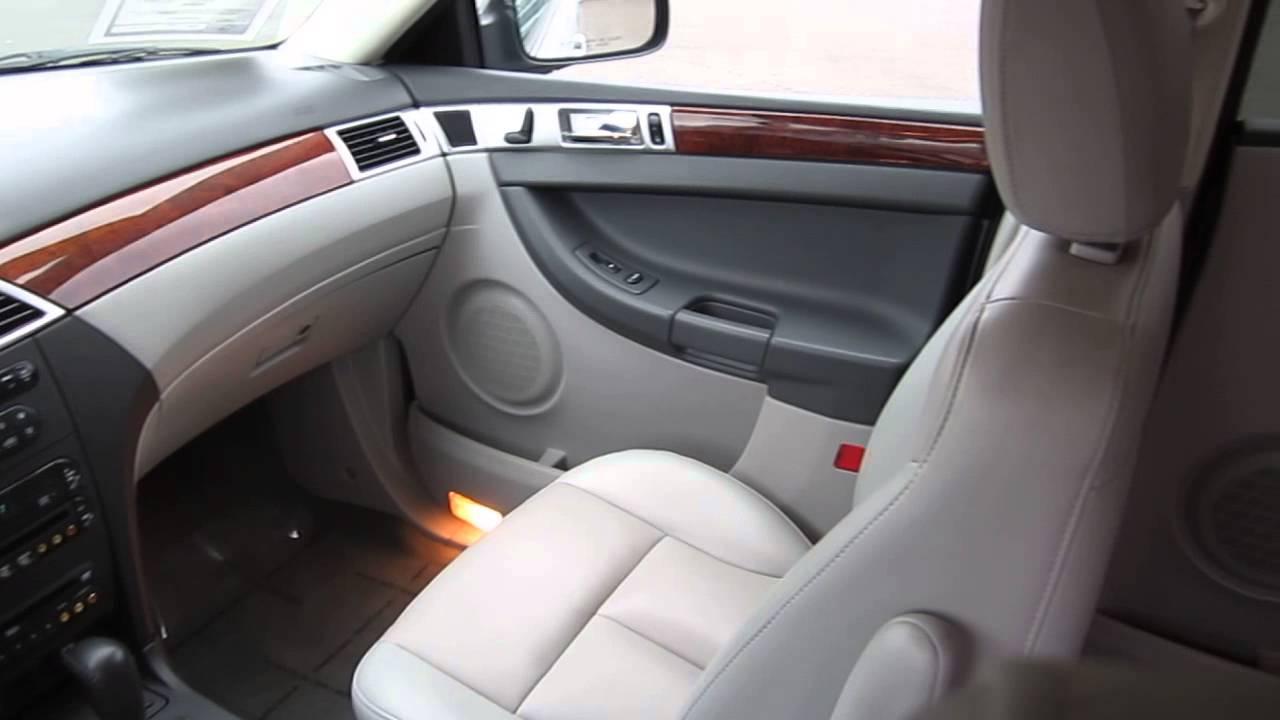 2007 Chrysler Pacifica Silver Stock B2360a Interior Youtube
