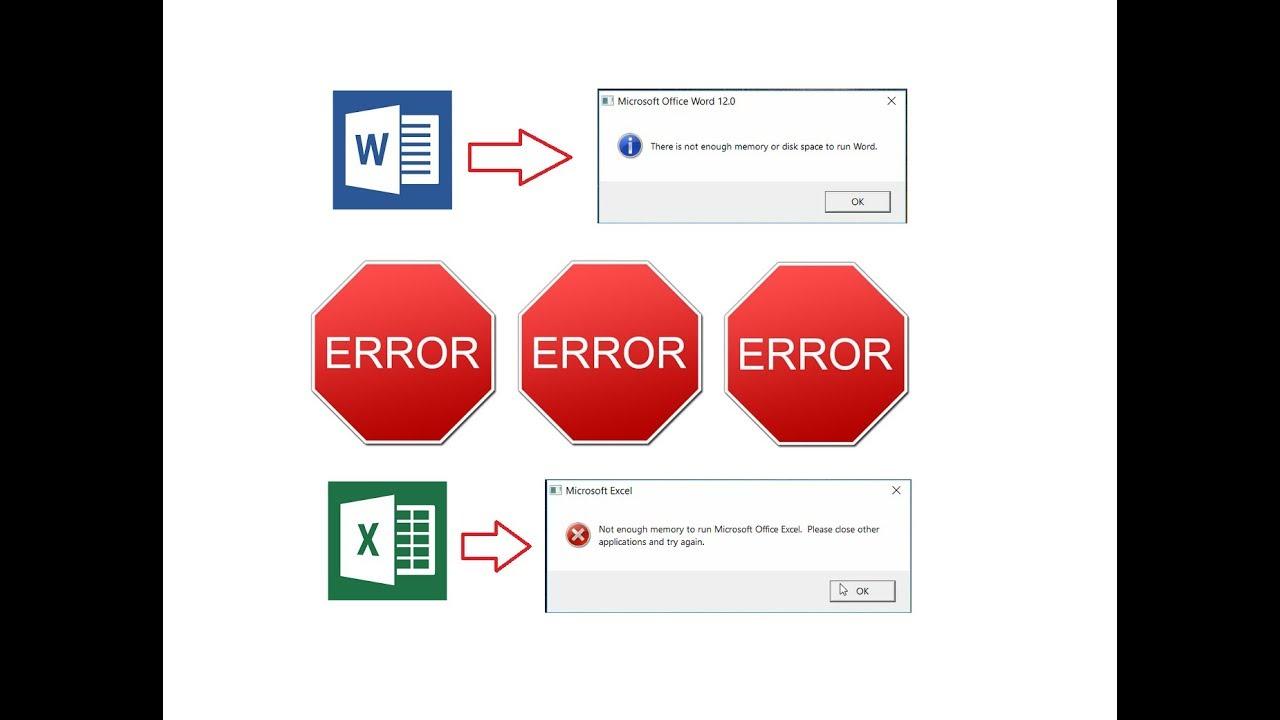 Sửa lỗi không mở được file Excel và file Word khi kích đúp