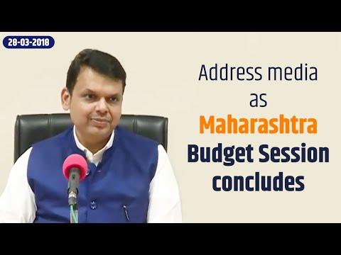 CM Devendra Fadnavis' address media as Maharashtra Budget Session concludes