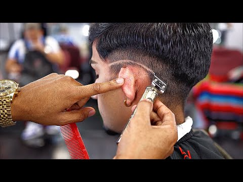 HAIRCUT TUTORIAL FOR BEGINNERS BARBERS: CROP-OVER STYLE