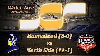 Watch live: No. 1 North Side (11-1) vs. No. 2 Homestead (8-0) | Boys Basketball Broadcast thumbnail