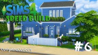 The Sims 4 - La Casa Blu - SPEED BUILD #6 [NewCrest]