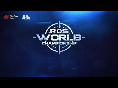 Rules Of Survival (ROS) Shanghai World Championship 2018