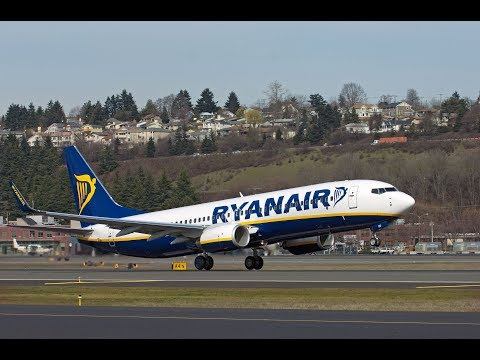 Ryanair  All in a days work  EGCC/EGPH/EHAM