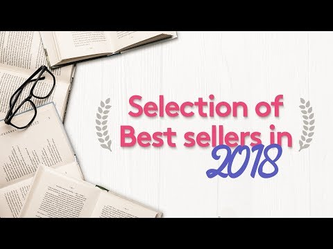 5 Selections Of Our 2018's Best Selling Books