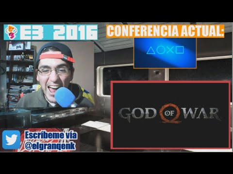 E3 2016: Reacción a God of War (GOW IV)