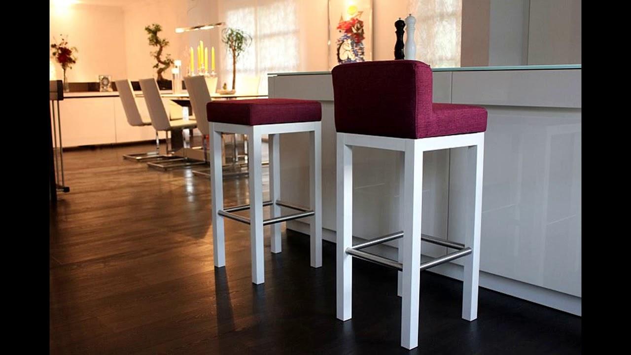 toms trendm bel barhocker in massiv holz wohntrend f r k che und wohnraum youtube. Black Bedroom Furniture Sets. Home Design Ideas