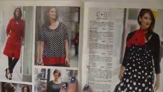 Одежда для полных девушек.Обзор французского журнала.