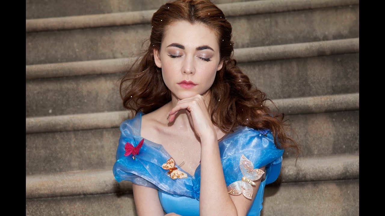 Cinderella Make Up Tutorial Lily James Style Youtube