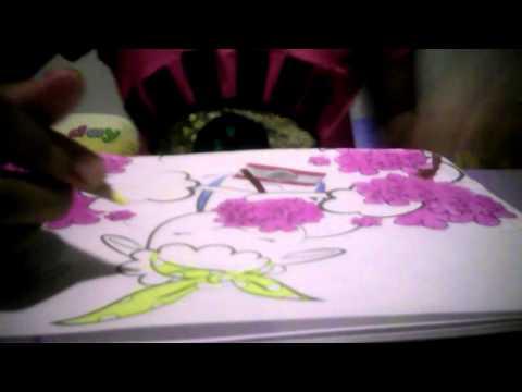 ระบายสีรูป...แกะเที่ยวส่วนดอกไม้